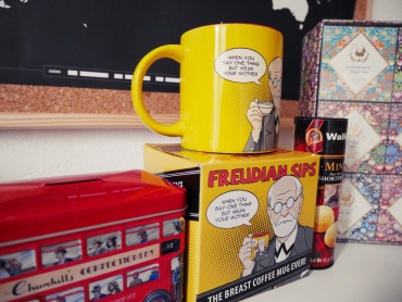 Mug from Freud Museum in London